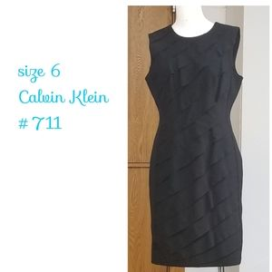 Sz 6 Calvin Klein dress